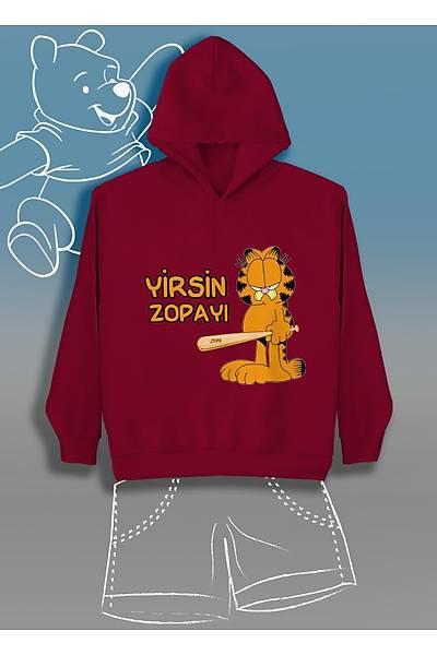 Yirsin Zopayý (Üniseks Çocuk Kapüþonlu)