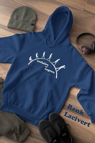 Evolution Of Aegean(Üniseks Sweatshirt)
