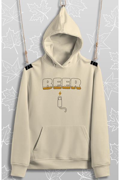 Beer Þarj (Üniseks Kapüþonlu)