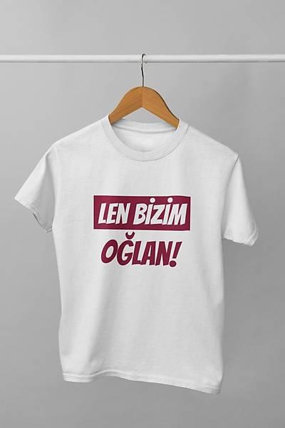 Len Bizim Oðlan(Üniseks Çocuk Tiþörtü)