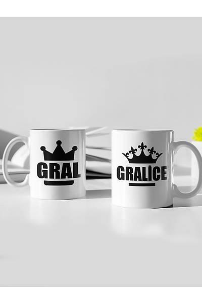 Gral Graliçe(2li Porselen Kupa)