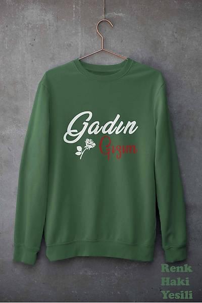 Gadýn Gýzým (Üniseks Kapüþonsuz)