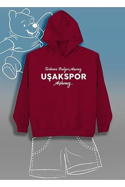 Tarhan Bulgur Aþýmýz Uþakspor Aþkýmýz (Üniseks Çocuk Kapüþonlu)