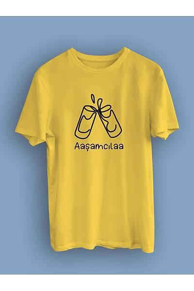 Aaþamcýla(Üniseks Tiþört) alkol