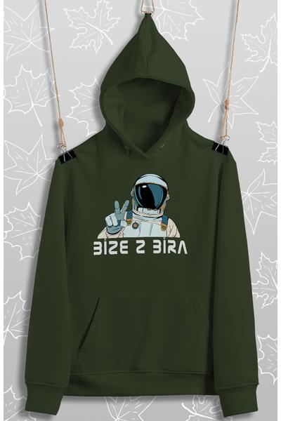 Bize 2 Bira (Üniseks Kapüþonlu) biyace3