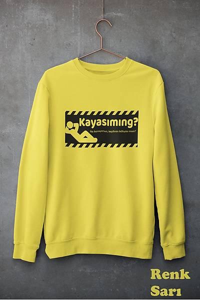 Kayasýmýng(Üniseks Kapüþonsuz)