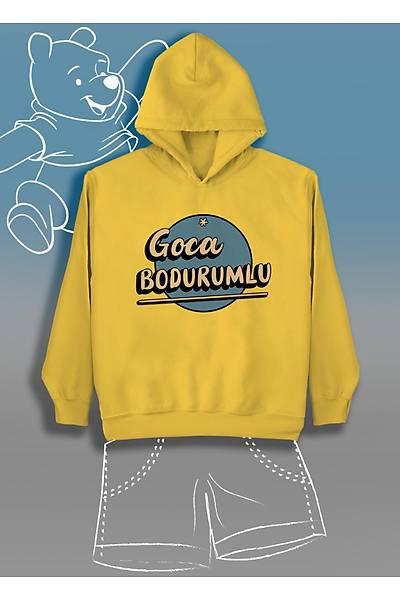 Goca Bodurum (Üniseks Çocuk Kapüþonlu)