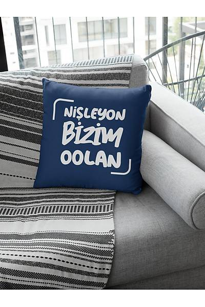 Niþleyon Bizim Oolan (Kare Yastýk)