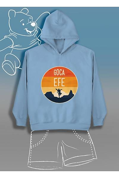 Goca Efe  (Üniseks Çocuk Kapüþonlu)