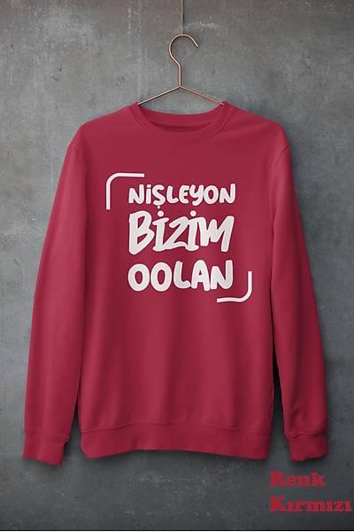 Niþleyon Bizimoolan (Üniseks kapüþonsuz)