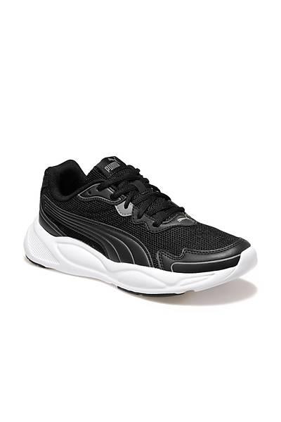 Puma 90s Runner Nu Wave Koþu Ayakkabýsý Siyah - Beyaz