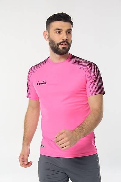 Diadora Ritim Antrenman T-Shirt Pembe