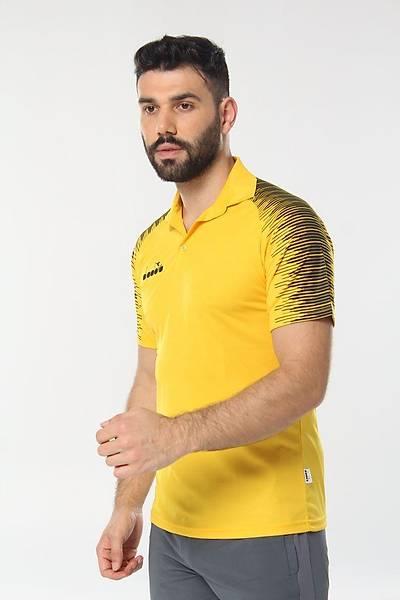 Diadora Ritim Kamp Polo T-Shirt Sarý