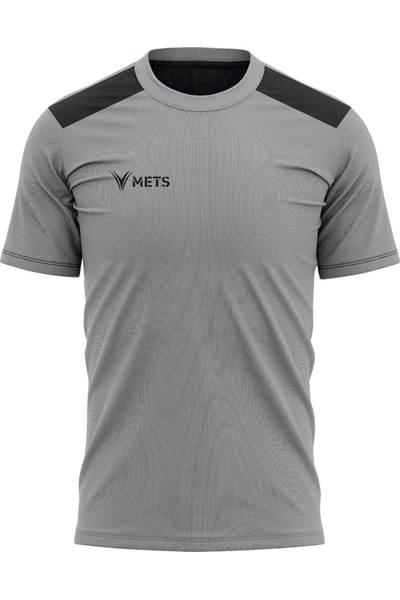 Mets Strike Antrenman T-Shirt Gri