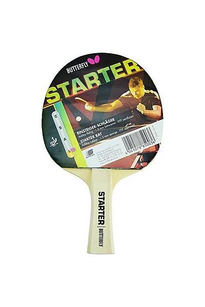 Butterfly 85003 Starter ITTF Masa Tenisi Raketi Kýrmýzý