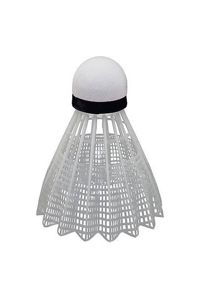 Delta BT1000 Slow Speed 6 'lý Badminton Topu Beyaz