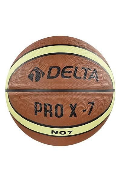 Delta Kauçuk Prox Basketbol Topu - 7 Numara Turuncu