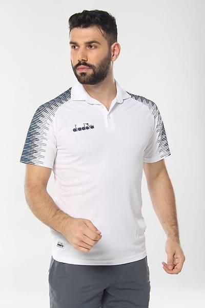 Diadora Ritim Kamp Polo T-Shirt Beyaz