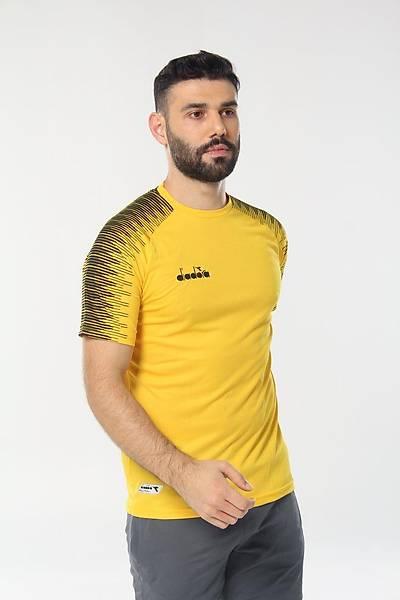 Diadora Ritim Antrenman T-Shirt Sarý