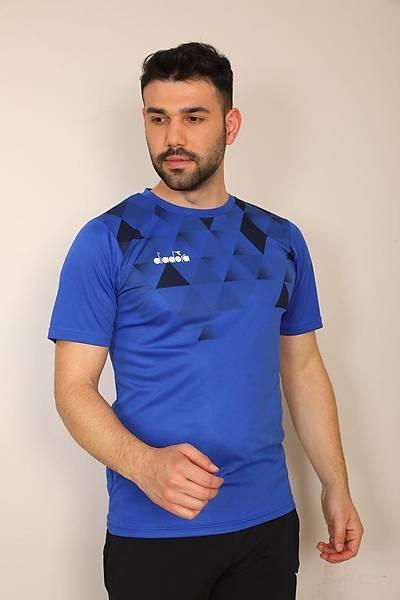 Diadora Alone Antrenman T-Shirt Mor