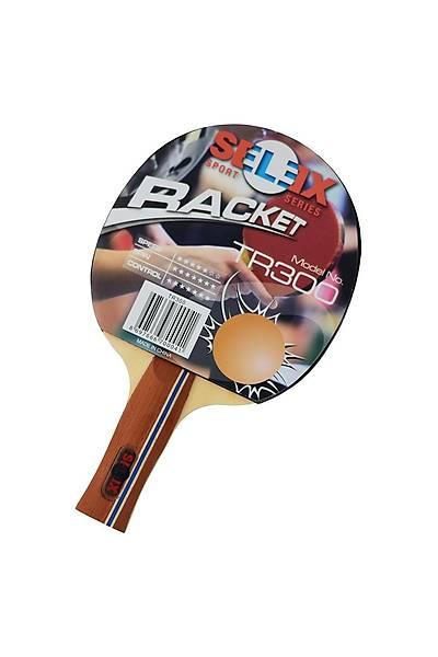 Selex TR300 ITTF Onaylý Masa Tenisi Raketi Kýrmýzý - Siyah