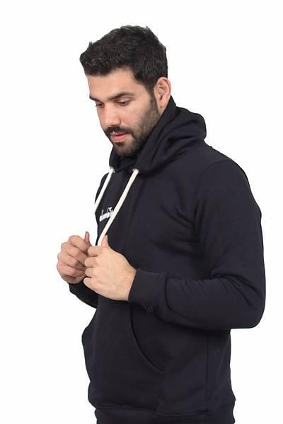 Diadora Harle Kanguru Cepli Sweatshirt Lacivert