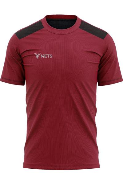 Mets Strike Antrenman T-Shirt Bordo