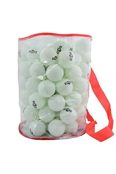 Selex 100'lü Masa Tenisi Topu Beyaz Beyaz