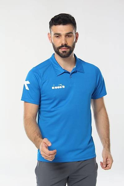 Diadora Nacce Kamp T-Shirt Mavi