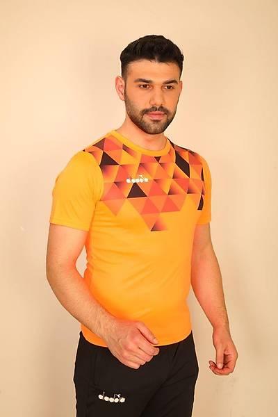 Diadora Alone Antrenman T-Shirt Turuncu
