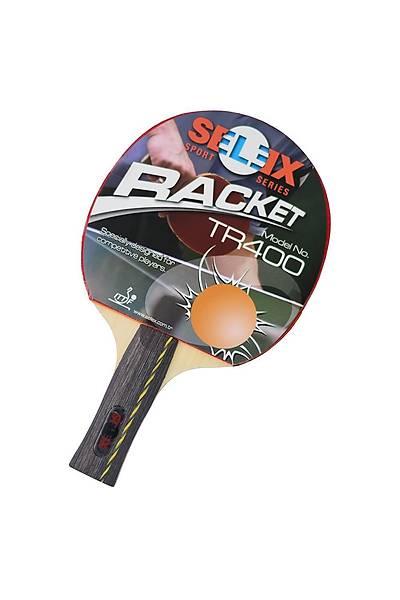 Selex TR400 ITTF Onaylý Masa Tenisi Raketi Kýrmýzý - Siyah