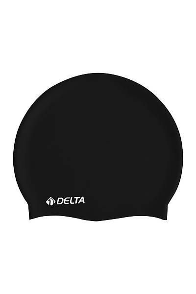 Delta Silikon Bone Deluxe Yüzücü Bonesi Siyah