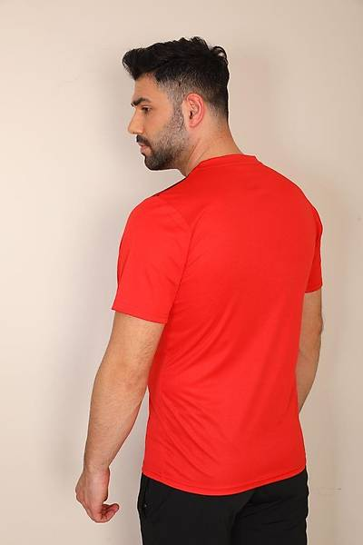 Diadora Alone Antrenman T-Shirt Kýrmýzý