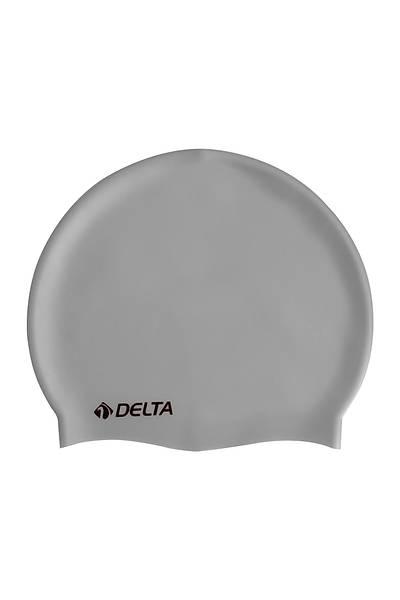 Delta Silikon Bone Deluxe Yüzücü Bonesi Gri