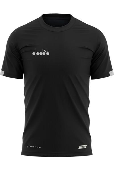 Diadora Venüs Antrenman T-Shirt Siyah