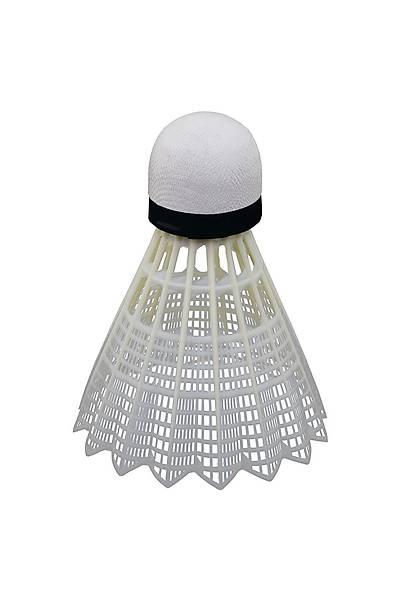Selex 808 6'lý Plastik Badminton Topu Beyaz