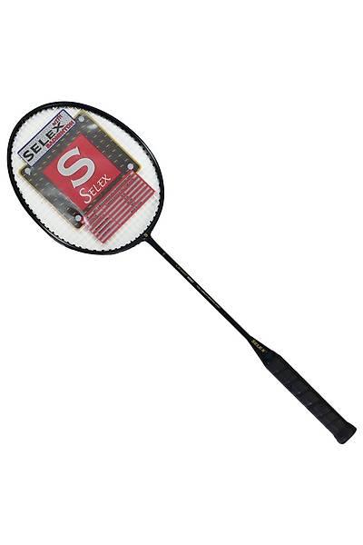 Selex 5501 Carbon Badminton Raketi Siyah