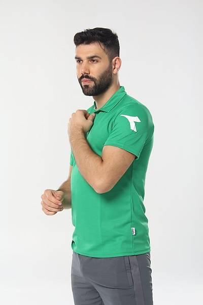 Diadora Nacce Kamp T-Shirt Açýk Yeþil
