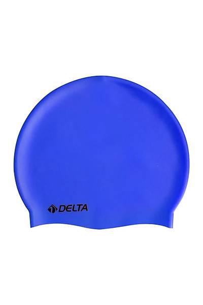Delta Silikon Bone Deluxe Yüzücü Bonesi Mavi