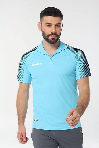 Diadora Ritim Kamp Polo T-Shirt Turkuaz