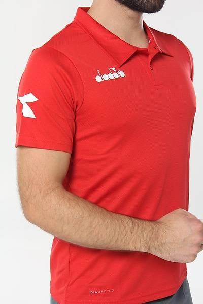 Diadora Nacce Kamp T-Shirt Kýrmýzý