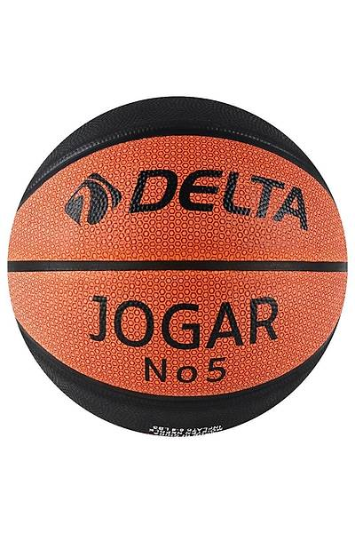 Delta Jogar Basketbol Topu 5 Numara Turuncu - Siyah