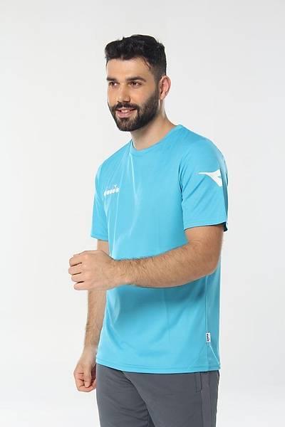 Diadora Nacce Antrenman T-Shirt Turkuaz