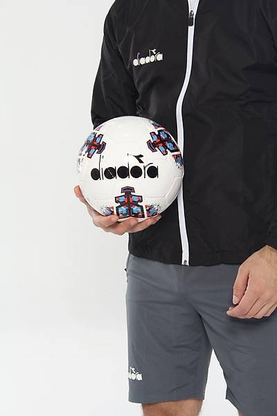 Diadora Yarý Profesyonel Futbol Topu No 5 Mavi - Kýrmýzý