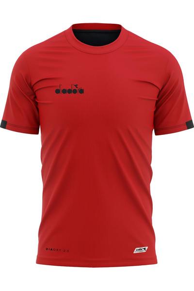 Diadora Venüs Antrenman T-Shirt Kýrmýzý