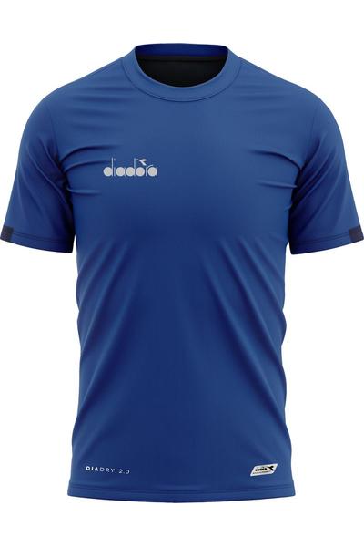 Diadora Venüs Antrenman T-Shirt Mavi