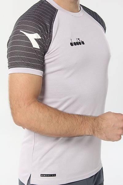 Diadora Mundial Antrenman T-Shirt Beyaz - Siyah