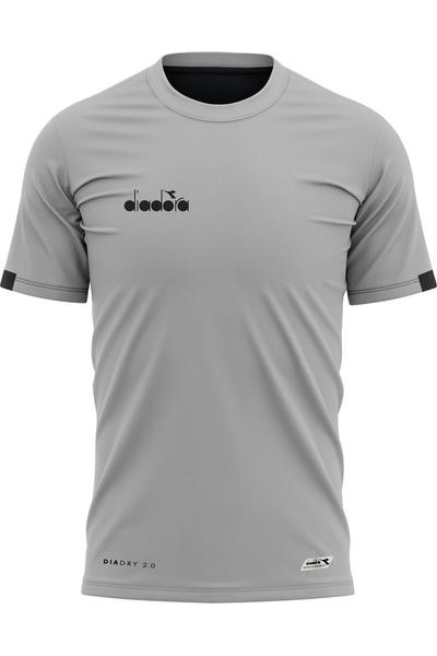Diadora Venüs Antrenman T-Shirt Gri