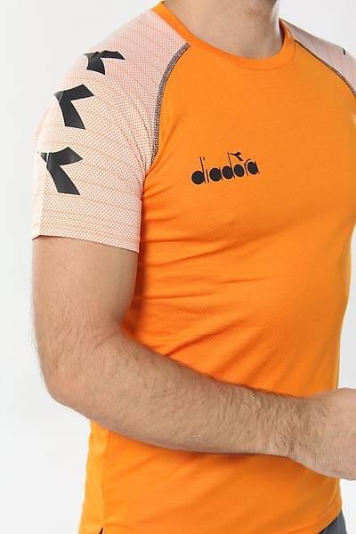Diadora Mundial Antrenman T-Shirt Turuncu