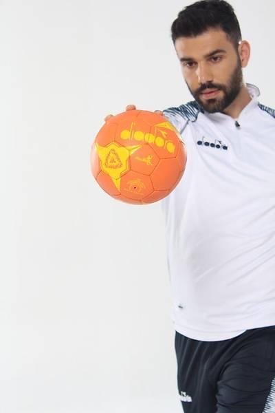 Diadora Hentbol Topu Turuncu No 3